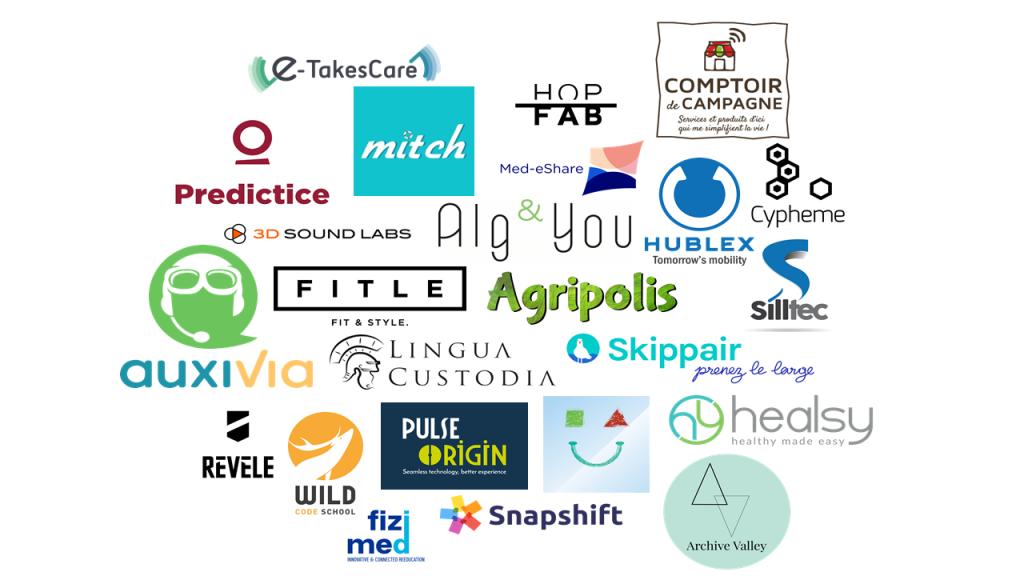 2017 startups investies