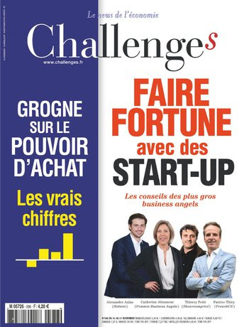 couverture Challenges Nov 2018