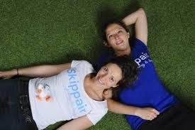 Maïna Marquette et Claire Blangez